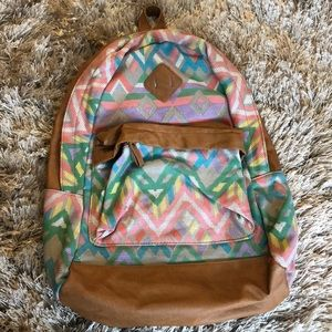 ALDO patterned backpack NEW condition